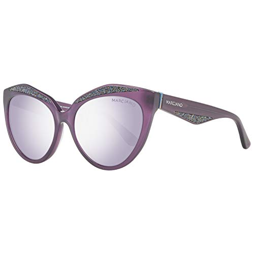 Guess GM0776 5678B Guess by Marciano Sonnenbrille GM0776 78B 56 Schmetterling Sonnenbrille 56, Violett