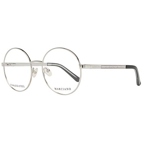 Guess GM0323 54060 Guess by Marciano Brille GM0323 060 54 Rund Brillengestelle 54, Silber